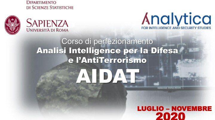Apertura Del Corso Analisi Intelligence Per La Difesa E L' Antiterrorismo